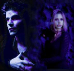 Angel and Buffy Alone