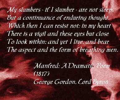 Excerpt from Manfred by Byron