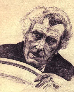 Peter Cushing sketch by Countess S